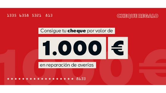 Cheque Regalo de 1.000€