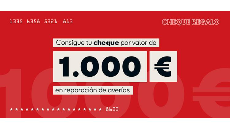 Cheque Regalo de 1.000€